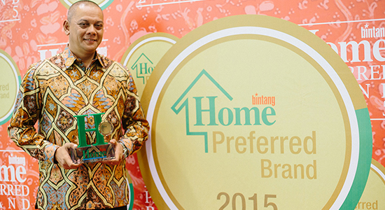 Home Preferred Brand Award 2015