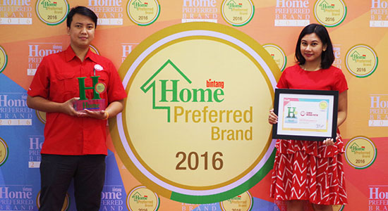 Home Preferred Brand Award 2016